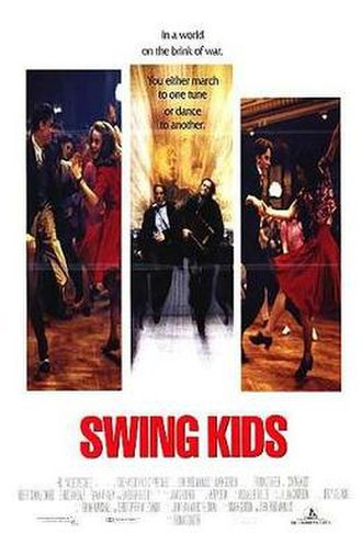 Swing Kids (1993 film) - Theatrical release poster