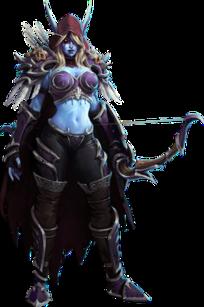 Sylvanas Windrunner Character in Warcraft series of video games