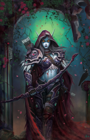 Sylvanas Windrunner - Warchief of the Horde