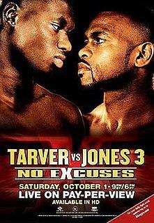 Antonio Tarver vs. Roy Jones Jr. III Boxing competition