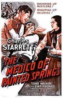 <i>The Medico of Painted Springs</i> 1941 film by Lambert Hillyer