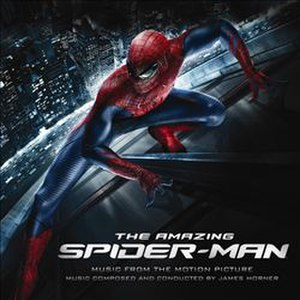 The Amazing Spider-Man (soundtrack) - Image: The Amazing Spider Man soundtrack