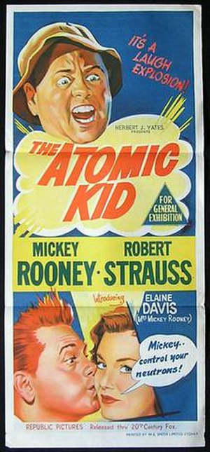 The Atomic Kid - Australian theatrical release poster