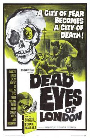 The Dead Eyes of London - Film poster