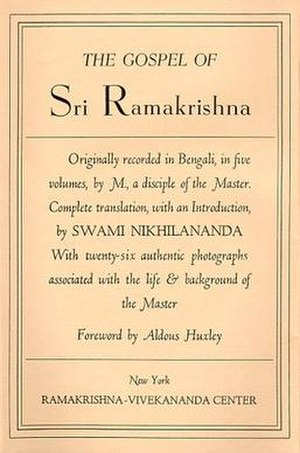 The Gospel of Sri Ramakrishna - The Gospel of Ramakrishna, 1942 edition.