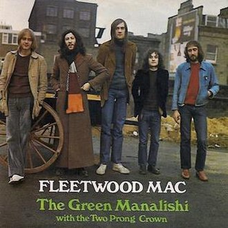 The Green Manalishi (With the Two Prong Crown) - Image: The Green Manalishi (Fleetwood Mac single cover art)