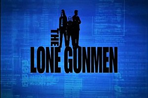The Lone Gunmen (TV series) - Image: The Lone Gunmen logo