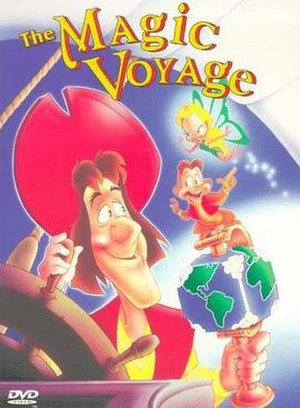 The Magic Voyage - DVD cover