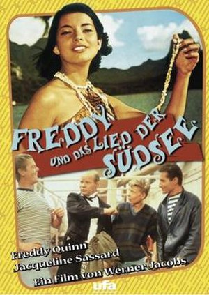 Freddy and the Song of the South Pacific - DVD Cover