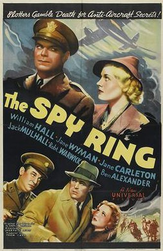 The Spy Ring - Theatrical release poster