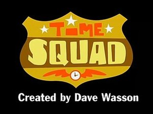 Time Squad - From left to right, Buck Tuddrussel, Otto Osworth, and Larry 3000