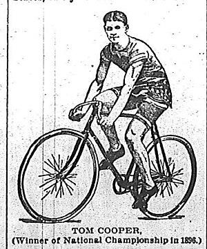 Tom Cooper (cyclist) - Tom Cooper circa 1897.