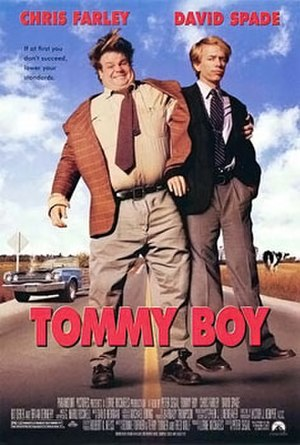 Tommy Boy - Theatrical release poster