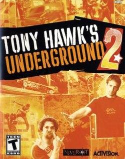 <i>Tony Hawks Underground 2</i> 2004 video game