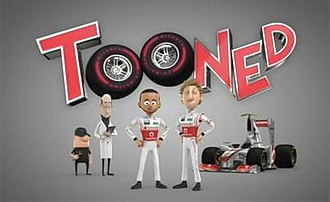 Tooned - The Main title card used for Season 1.