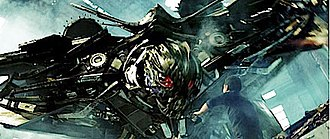 Transformers: Revenge of the Fallen - Image: Transformers Revenge of the Fallen Decepticon and Sam