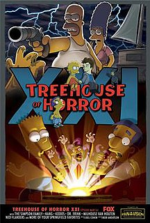 Treehouse of Horror XXI 4th episode of the twenty-second season of The Simpsons