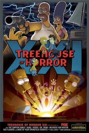Treehouse of Horror XXI - Image: Treehouse of Horror XXI