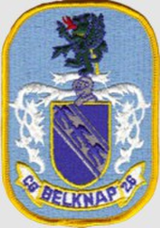 USS Belknap (CG-26) - Image: USS Belknap (CG 26) Badge