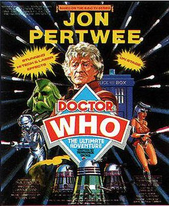 Doctor Who – The Ultimate Adventure - Advertisement for the play during the time Jon Pertwee starred as the Doctor.