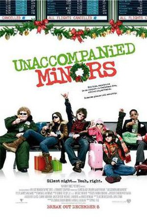 Unaccompanied Minors - Theatrical release poster