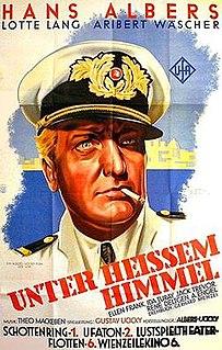 <i>Under Blazing Heavens</i> 1936 film directed by Gustav Ucicky