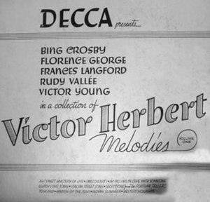 Victor Herbert Melodies, Vol. 1 - Image: Victor Herbert Melodies, Vol. 1 (album cover)