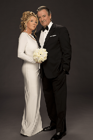 Victor and Nikki Newman - Eric Braeden and Melody Thomas Scott as Victor and Nikki