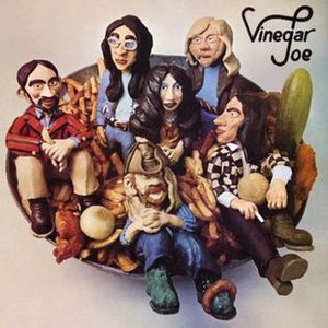 Vinegar Joe (band) - Vinegar Joe (1972) album cover
