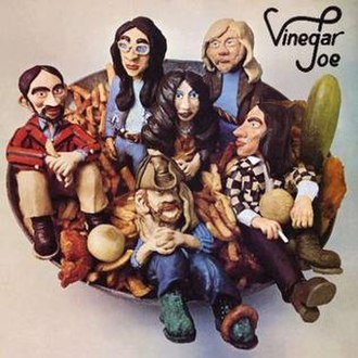 Vinegar Joe (band) - Vinegar Joe (1972) album cover