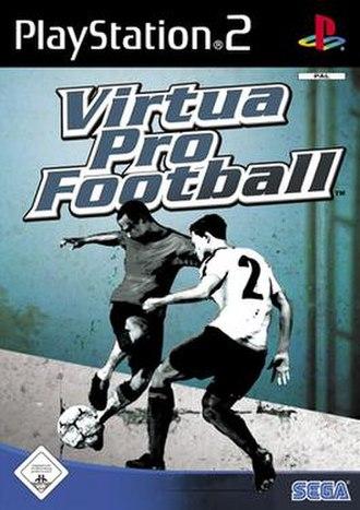Virtua Pro Football - Cover art