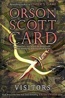 <i>Visitors</i> (Card novel) book by Orson Scott Card