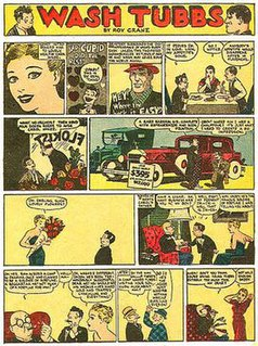<i>Wash Tubbs</i> 1924-1949 American comic strip
