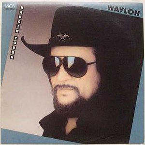 Hangin' Tough (Waylon Jennings album) - Image: Waylon Jennings Hangin Tough