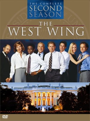 The West Wing (season 2) - Image: West Wing S2 DVD