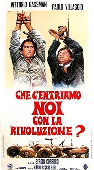 What Am I Doing in the Middle of a Revolution? - Italian film poster