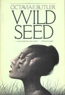 <i>Wild Seed</i> (novel) book by Octavia E. Butler