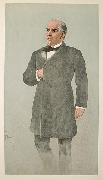James Montgomery Flagg - Image: William Mc Kinley Vanity Fair 2 February 1899