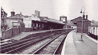 Wimborne railway station