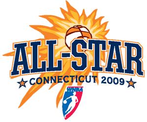 2009 WNBA All-Star Game - Image: Women's National Basketball Association (All Star Game, 2009) (logo)