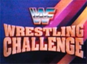 WWF Wrestling Challenge - Title card circa 1991