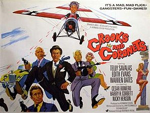 Crooks and Coronets - Original UK quad poster by Tom Chantrell