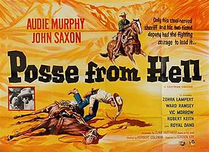 Posse from Hell - British quad poster