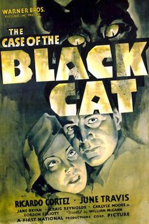The Case of the Black Cat - Original U.S. 1-sheet poster