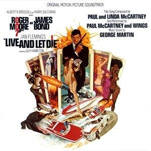 Live and Let Die (soundtrack) - Image: 007LALDsoundtrack 73