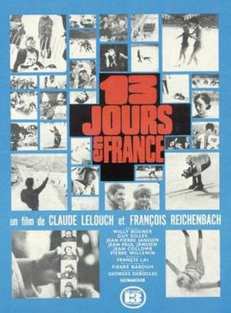 13 jours en France - French Film Poster