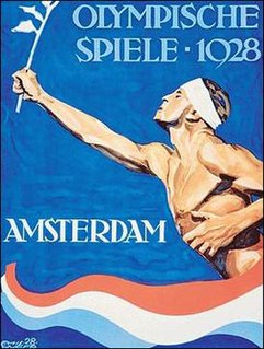 1928 Summer Olympics games of the IX Olympiad, celebrated in Amsterdam in 1928
