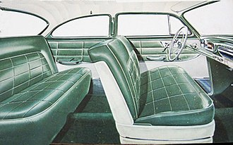 Chevrolet Delray - 1954 Chevrolet 210 Delray interior