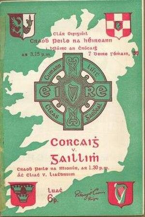 1956 All-Ireland Senior Football Championship Final - Image: 1956 All Ireland Senior Football Championship Final programme
