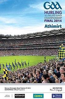 2014 All-Ireland Senior Hurling Championship Final Football match